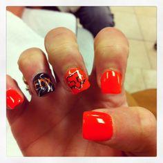 Fox Racing Nails <3