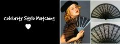 Hand Fans by Kate Dengra celebrity style matching