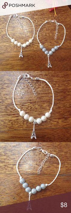 Paris Hemp Bracelets Paris 100% Tan Hemp Bracelet. New Handmade by Andreas Closet Boutiques. Has lobster clasp extender. OSFM. Andreas Closet Boutiques Jewelry Bracelets