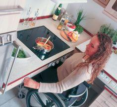 Bespoke Designed Kitchens for the Disabled