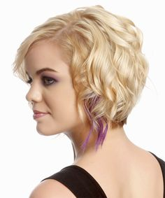 Short hairstyle wavy alternative black thehairstyler casual short wavy hairstyle side view urmus Choice Image