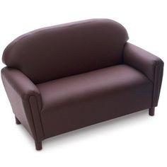 Brand New World Toddler  Enviro-Child  Upholstery Sofa - Chocolate Brand New World