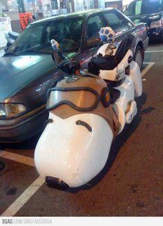 Snoopy Bike!