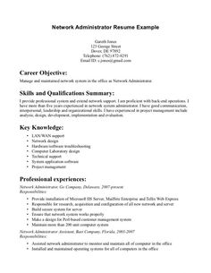 security job objectives for resumes