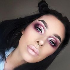 I& so excited for the arrival of my little lady I did a pink look for her ✨ modern renaissance palette, dipbrow grani… Makeup Goals, Makeup Inspo, Makeup Inspiration, Makeup Tips, Beauty Makeup, Glamour Makeup, Makeup Tutorials, Gorgeous Makeup, Pretty Makeup