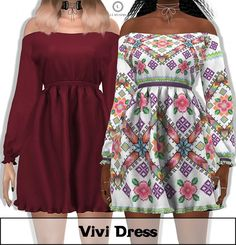 Lumy Sims Vivi Dress for The Sims 4 Lumy Sims Vivi Dress for The Sims 4 The post Lumy Sims Vivi Dress for The Sims 4 appeared first on Toddlers Diy. Sims 3, The Sims 4 Pc, Sims 4 Cas, Sims 4 Mods Clothes, Sims 4 Clothing, Sims Mods, Sims 4 Toddler Clothes, Vêtement Harris Tweed, Sims 4 Anime
