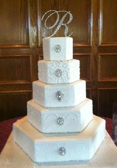 FREE SHIPPING - Swarovski Crystal Monogram Cake Topper Any Letter A B C D E F G H I J K L M N O P Q R S T U V W X Y Z on Etsy, $49.00