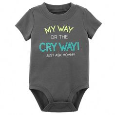 Funny Baby Boy Quotes Faces Ideas For 2019 Carters Baby Boys, Baby Kids, Baby Crying Face, Baby Boy Quotes, Baby Sayings, Baby Boy Fashion, Funny Babies, Baby Bodysuit, Reborn Baby Girl