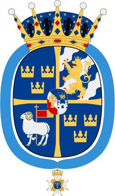 Coat of arms of Princess Leonore, Duchess of Gotland.