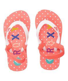 Pink Dot Tahiti Sandal #zulily #zulilyfinds