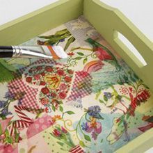 Paper Napkin Crafts                                                                                                                                                     More