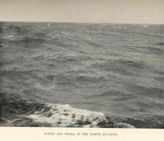 waves and swell north atlantic 1910 ish