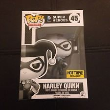 Funko Pop - Harley Quinn (Black & White) - Hot Topic Mystery Pop