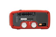 A must have for every bug out bag. Hand crank, solar powered radio. USB phone charger