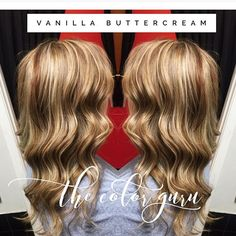 We came up with this name for this amazing color I did! Vanilla buttercream! Beautiful hair for a beautiful client that was leaving for an amazing opportunity for her family! So excited and always praying for each of my clients! #hair #hairbymeredithmiller #color #love #bossierstylist #modernsalon #pravana #redken #behindthechair @behindthechair_com @behindthechair_stylist