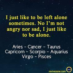 alone, foodie, zodiac sign, aries, taurus, cancer, scorpio, capricorn, aquarius, virgo, pisces