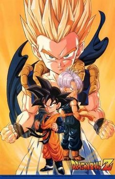 Goten and Trunks = Gotenks!!! Super Saiyan no less!! ------Dragonball Z
