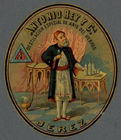 Anís del Hebreo. Jeraz, Cádiz