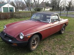 David's 1980 MG MGB - AutoShrine Registry