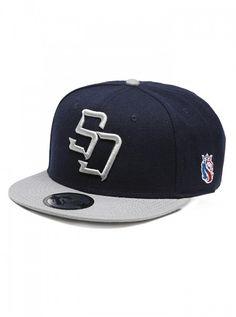 """Men's """"3D Bevel"""" Snapback Hat by OG Abel (Navy) #InkedShop #InkedMag #3D #Bevel #Snapback #Hat #Navy"""