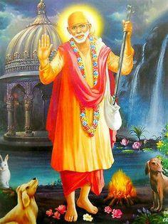 Sai Baba poster-reprint on inches) Sai Baba Pictures, God Pictures, Indian Spirituality, Sai Baba Miracles, Shirdi Sai Baba Wallpapers, Sai Baba Hd Wallpaper, Sai Baba Quotes, Sathya Sai Baba, Baba Image