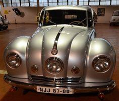 Best Sport Car Collections: Cyclops car - 1947 TATRA T-87 SALOON