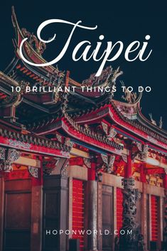 Planning a solo trip to Taipei and wondering what to do? Here are the best things to do in Taipei alone and all my top tips to help you travel Taipei solo. China Travel, Japan Travel, Travel Nepal, Travel Guides, Travel Tips, Travel Destinations, Budget Travel, Travel Abroad, Taipei Travel