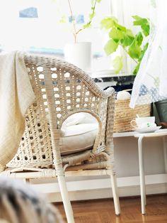 Love the IKEA FINNTORP chair.