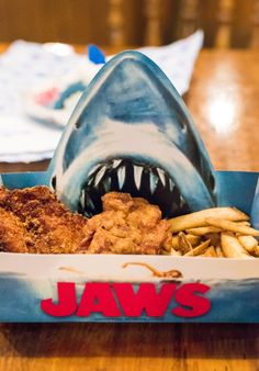 A JAWS-themed restaurant at Universal!