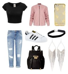 """""""Sin título #48"""" by fridamarciano on Polyvore featuring moda, Miss Selfridge, Helmut Lang, adidas, Ivanka Trump y Jules Smith"""