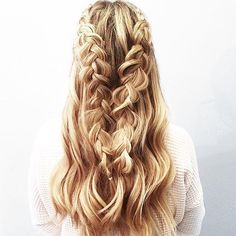 Two braids are better than one!  @blohaute @ashleypettitliving