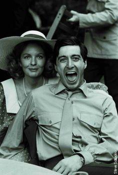 The Godfather, Al Pacino (Michael) e la sua futura moglie al matrimonio della sorella di lui. Un cult movie assoluto!!!!