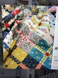 Red Pattern, Pattern Blocks, Quilt Patterns, Block Patterns, Scrappy Quilts, Easy Quilts, Sewing Crafts, Sewing Projects, Sewing Tips