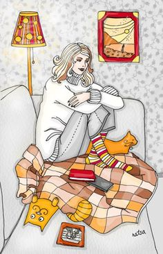Cats by Natalia Illarionova, via Behance Crazy Cat Lady, Crazy Cats, Tiger Love, Cat Aesthetic, All About Cats, Cat Drawing, Cat Art, Animals And Pets, Cats And Kittens