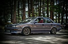 Wish my corolla was mint like this Toyota Camry, Toyota Corolla, Toyota Supra, Lexus Cars, Jdm Cars, Honda S2000, Honda Civic, Corolla Twincam, Toyota Van