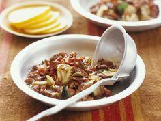 Fleischeintopf mit Bohnen auf brasilianische Art ist ein Rezept mit frischen Zutaten aus der Kategorie Eintöpfe. Probieren Sie dieses und weitere Rezepte von EAT SMARTER!