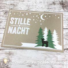 Wie ein Weihnachtslied, Karten mit Produktpaket von Stampin´Up! zum BlogHop