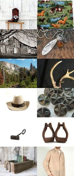 Fall is Cowboy Time  by Donna Harding on Etsy--Pinned with TreasuryPin.com