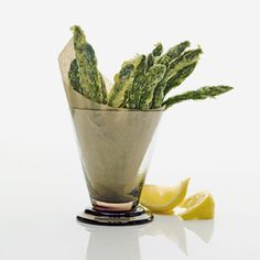 Asparagus Tempura // More Delicious Fried Foods: http://www.foodandwine.com/slideshows/fried-foods #foodandwine