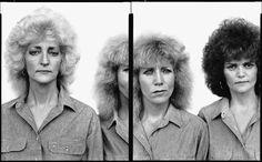 Richard Avedon - Loretta, Loudilla and Kay Johnson, Loretta Lynn Fan Club Co-Presidents, 1983 - In the American West