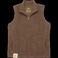 Women's Brown Cozy Sherpa Vest | Women's Sherpa Vest | Life is good