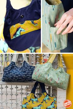 Friends and strangers alike will clamor to find out where you got this uniquely chic tote bag! Your sewing kit includes a pattern by designer Alexia Abegg and fabric from Cotton + Steel.