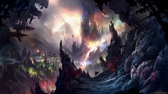 fantasy art Dark Tower upscaled - Wallpaper (#2823752) / Wallbase.cc