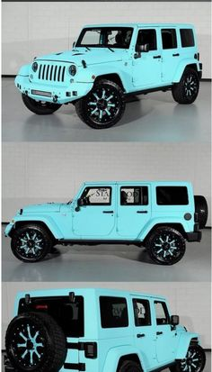 It Matches My Tiffany Blue 380 Lt 3 Garage Jeep Cars – Car Collection