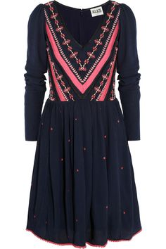 Mariella embroidered cheesecloth dress by ALICE by Temperley