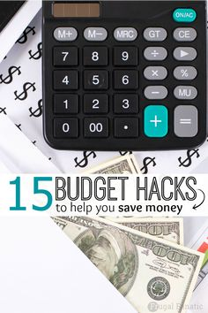 Read these 15 budget hacks to help you gain control of your finances and start building a savings account.