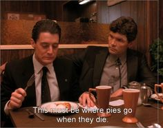 Special Agent Dale Cooper and Big Ed Hurley,Twin Peaks. Twin Peaks 1990, David Lynch Twin Peaks, Twin Peaks Characters, Days Of Christmas Song, Kyle Maclachlan, Laura Palmer, Between Two Worlds, Special Agent, Best Tv Shows