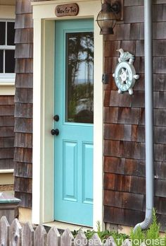 Turquoise Beach Cottage Entry Door