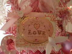 Tammy's Heart: Pink Valentine Tree  via Jamie Capps Kokoszka