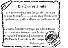 invitation anniversaire bateau pirate - Recherche Google